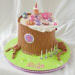 Lindas tortas de Feliz cumpleaños para niños