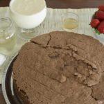 Como preparar una torta de cumpleaños de chocolate con fresa