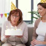 Linda Torta de cumpleaños para dedicar a una madre