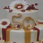 Lindas Imágenes de tortas de cumpleaños para una mujer de 50 años