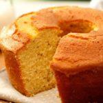 Linda Receta de cómo preparar un Pastel sencillo de vainilla