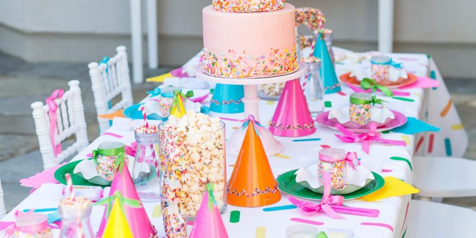 Mesa de cumpleaños