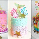 Hermosos diseños de tortas para niñas
