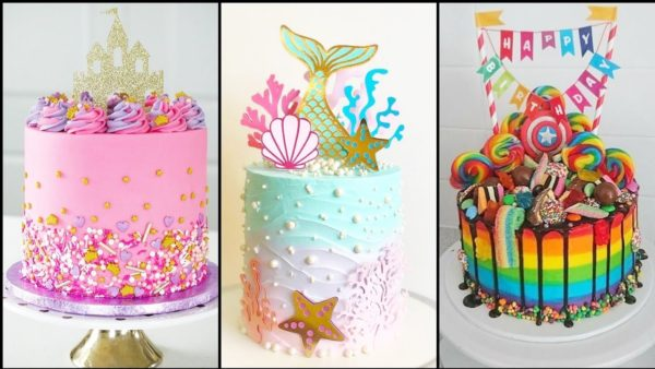 Diseños de tortas para niñas
