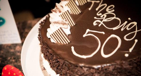 Torta de Cumpleaños numero 50
