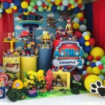 Linda Decoración de Cumpleaños de la Patrulla Canina